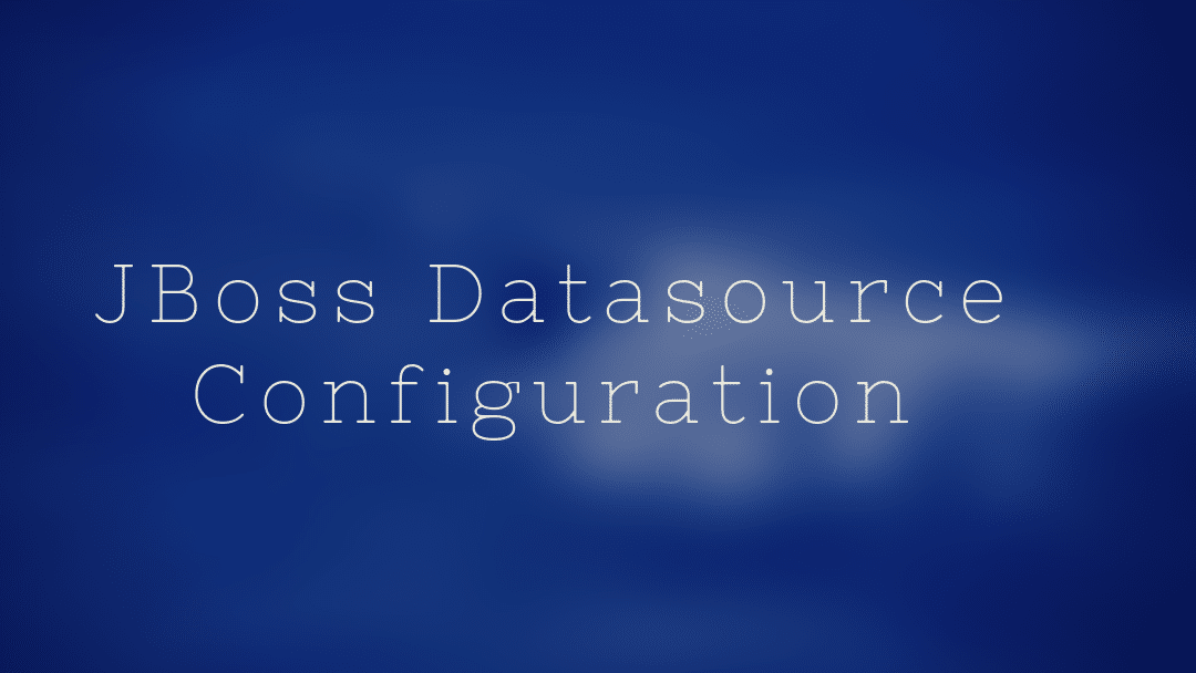 Jboss 7 EPA datasource configuration using oracle and spring boot