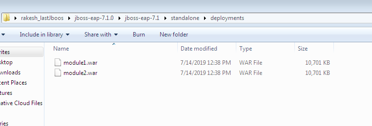 Deploy multiple war files in JBoss to different port