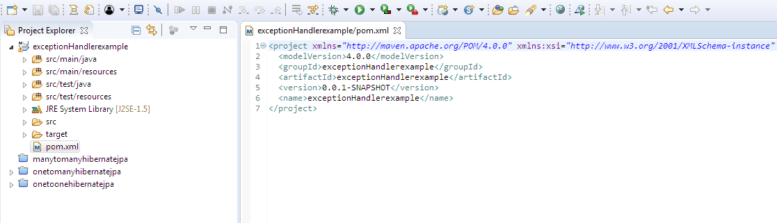 @ExceptionHandler Example in Spring Boot