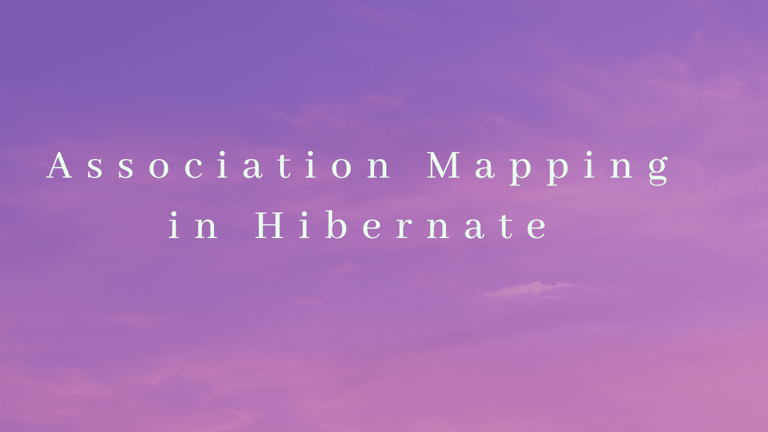 Association Mapping in Hibernate Using Spring Boot And Oracle