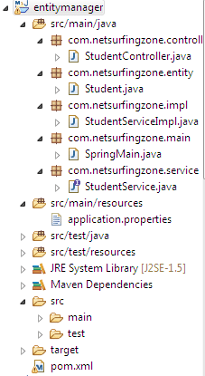JPA EntityManager remove() example Using Spring Boot